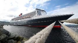 Океанский лайнер Queen Mary 2